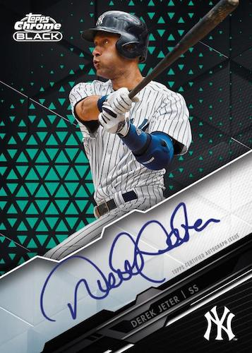 2020 Topps Chrome Black Baseball Cards - Checklist Added 5