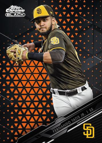 2020 Topps Chrome Black Baseball Cards 1