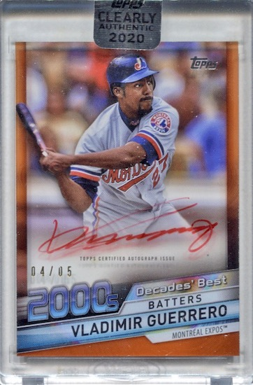 2020 Topps Clearly Authentic Baseball Cards 11