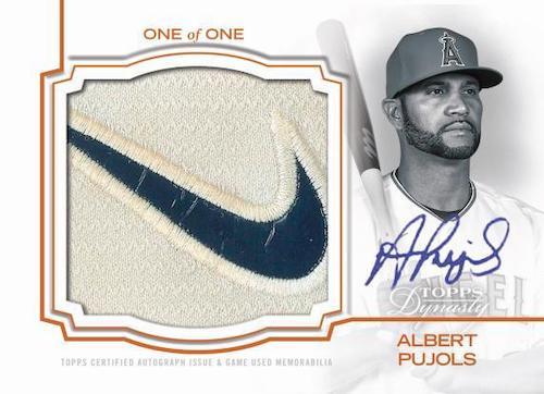 2020 Topps Dynasty Baseball Cards - Checklist Added 4