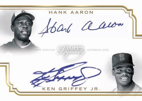 2020 Topps Dynasty Baseball Cards - Checklist Added 6