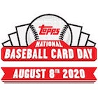 2020 Topps National Baseball Card Day Baseball