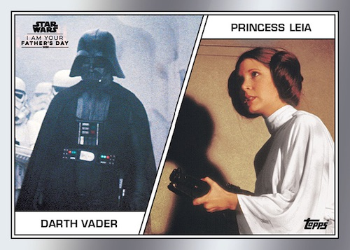2020 Topps Star Wars I Am Your Father's Day Cards 1