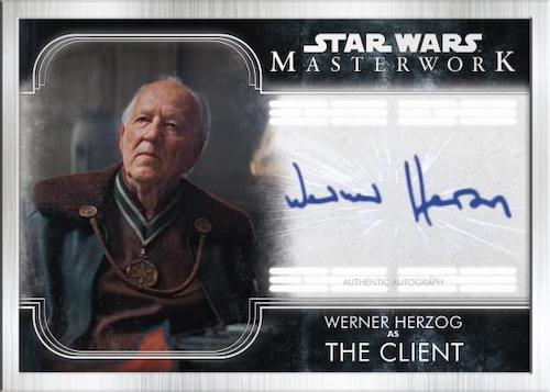 2020 Topps Star Wars Masterwork Trading Cards - Pedro Pascal Autographs 5