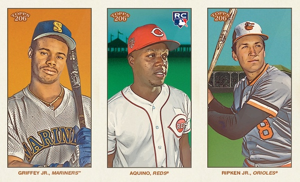 2020 Topps T206 Baseball Cards - Series 4 Checklist 6