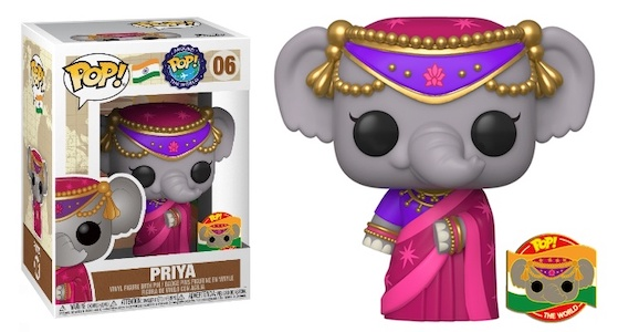 Funko Pop Around the World Figures Gallery and Checklist - July 9