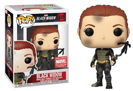 Funko Pop Black Widow Movie Figures 9