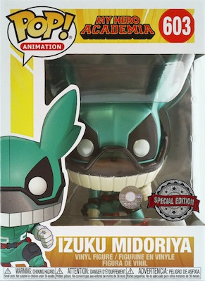 Ultimate Funko Pop My Hero Academia Figures Gallery and Checklist 24