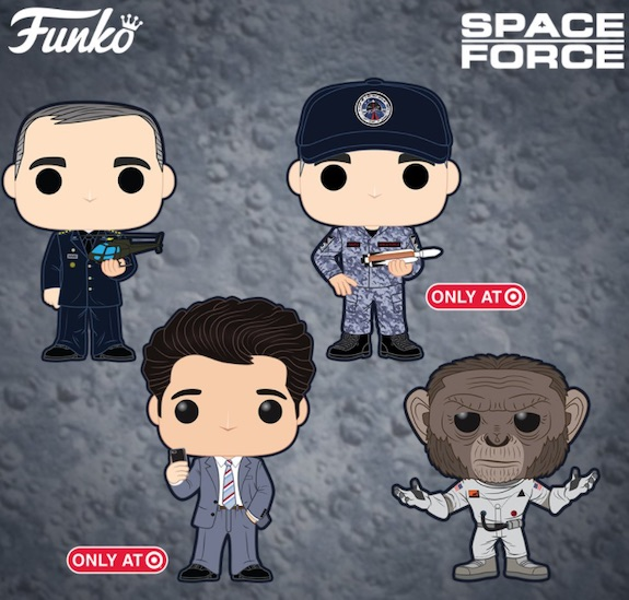 Funko Pop Space Force Figures 1