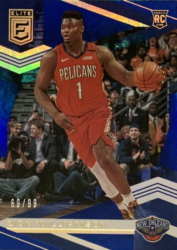 Top Zion Williamson Rookie Cards to Collect 1