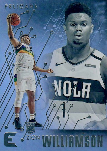 Top Zion Williamson Rookie Cards to Collect 4
