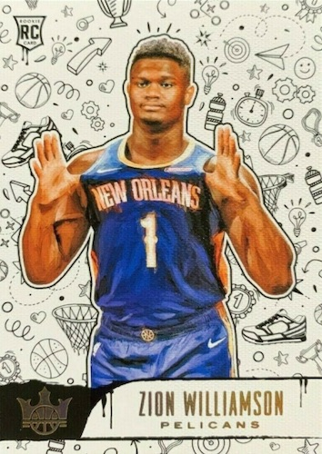 Top Zion Williamson Rookie Cards to Collect 10