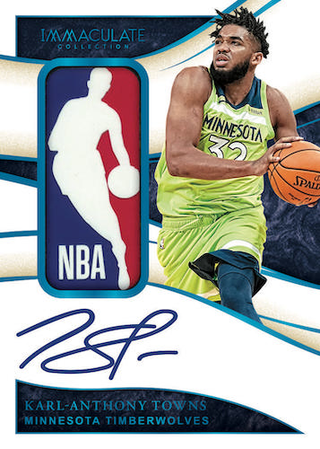 2019-20 Panini Immaculate Collection Basketball Cards - Checklist Added 5