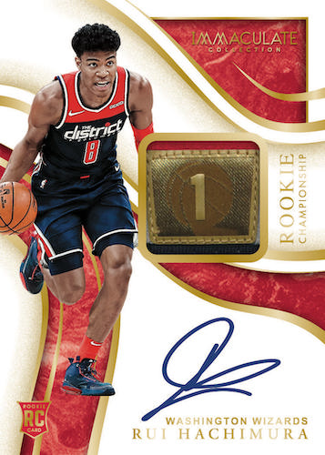 2019-20 Panini Immaculate Collection Basketball Cards - Checklist Added 4