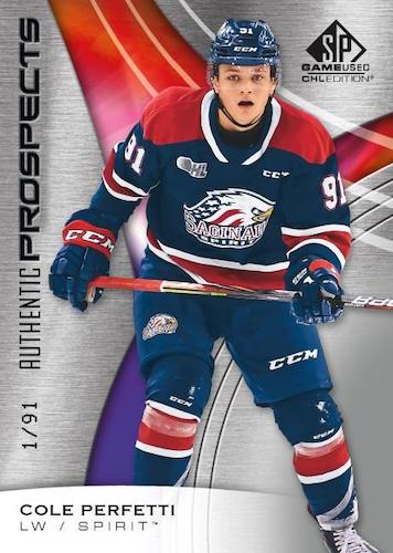 2019-20 SP Game Used CHL Hockey Cards 1