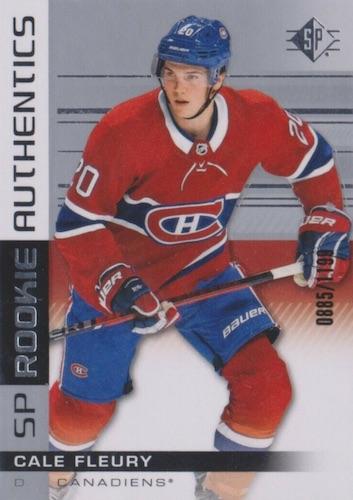 2019-20 SP Hockey Cards 7