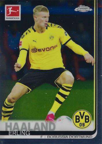 2019-20 Topps Chrome Bundesliga Soccer Cards 8