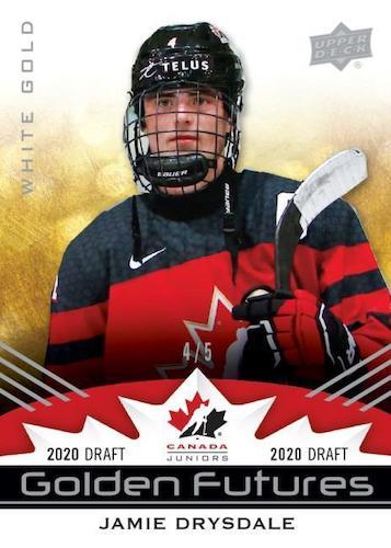 2020-21 Upper Deck Team Canada Juniors Hockey Cards 2
