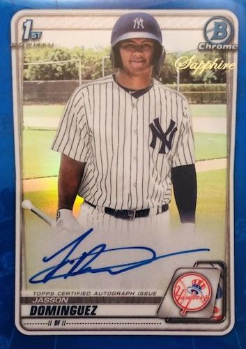2020 Bowman Sapphire Edition Baseball Cards 5