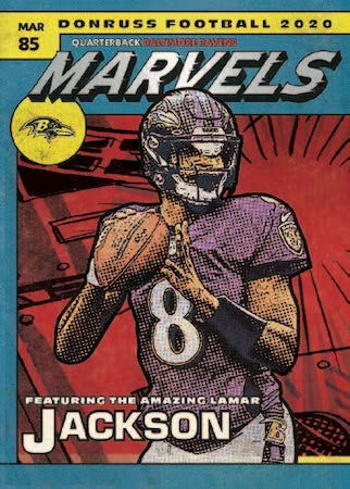 2020 Donruss Football Cards 5
