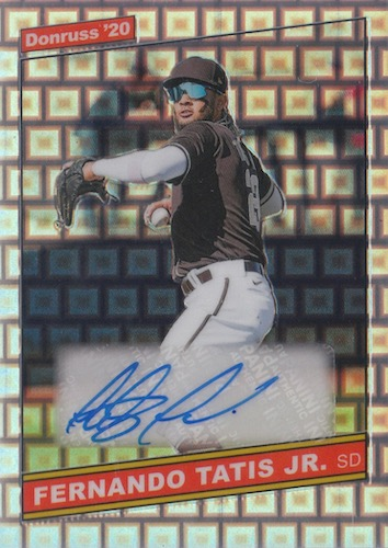 2020 Donruss Optic Baseball Cards 10