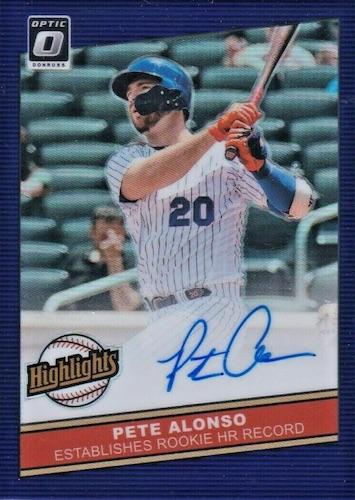 2020 Donruss Optic Baseball Cards 12