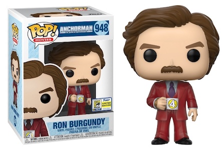 Funko Pop Anchorman Figures 3