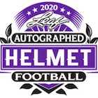 2020 Leaf Autographed Football Helmet Edition