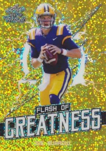 2020 Leaf Flash of Greatness Football Cards 4