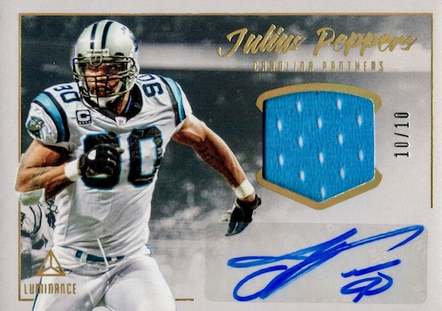 2020 Panini Luminance Football Cards 9