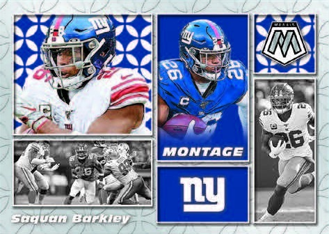 2020 Panini Mosaic Football Cards 4