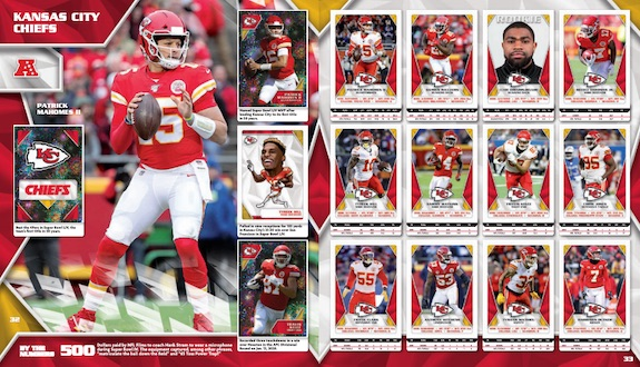 2020 Panini NFL Sticker & Card Collection Football Cards - Checklist Added 3