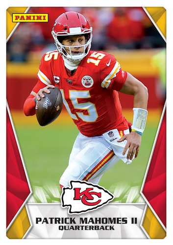 2020 Panini NFL Sticker & Card Collection Football Cards - Checklist Added 4