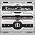 2020 Panini National Treasures Collegiate Football Cards