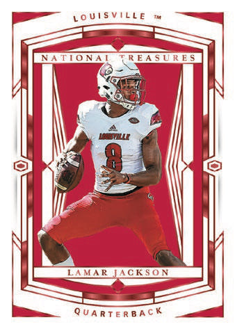 2020 Panini National Treasures Collegiate Football Cards - Checklist Added 3