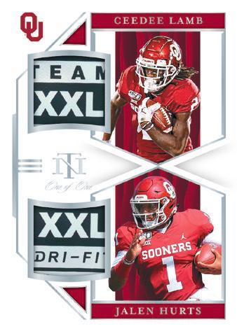 2020 Panini National Treasures Collegiate Football Cards 9