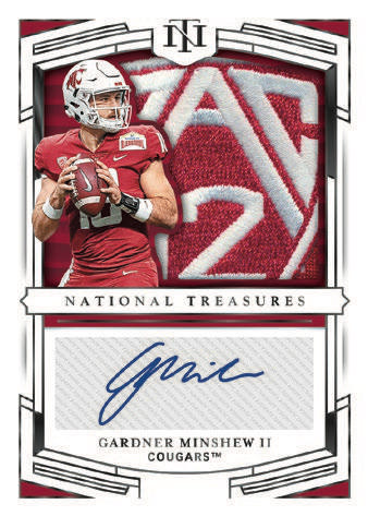 2020 Panini National Treasures Collegiate Football Cards - Checklist Added 8