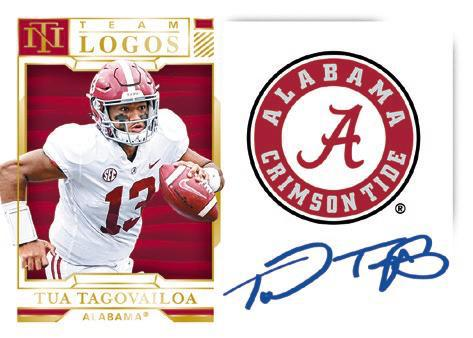 2020 Panini National Treasures Collegiate Football Cards 6