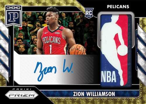 2020 Panini Prizm Blockchain Cards - Week 17 Checklist 1