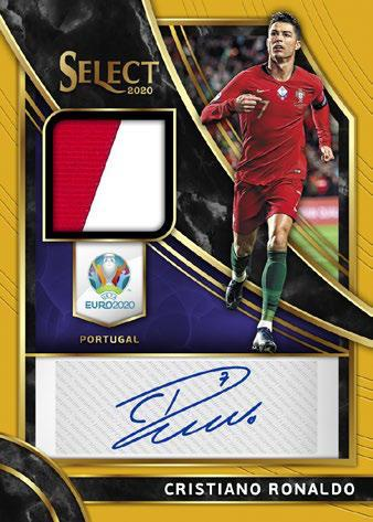 2020 Panini Select UEFA Euro Preview Soccer Cards 9