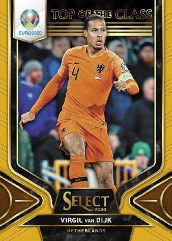2020 Panini Select UEFA Euro Preview Soccer Cards 5