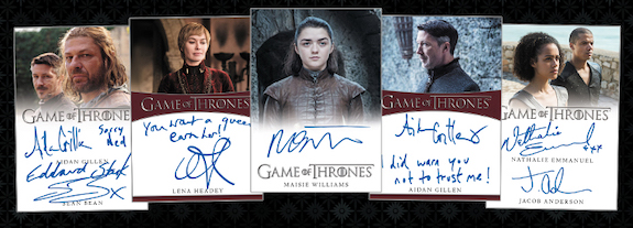 2020 Rittenhouse Game of Thrones Complete Series Trading Cards 3