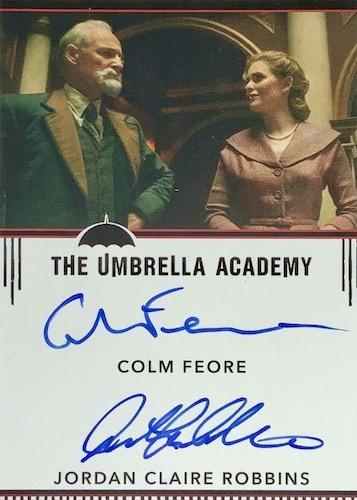 2020 Rittenhouse Umbrella Academy Season 1 Trading Cards - Collector's Set 11