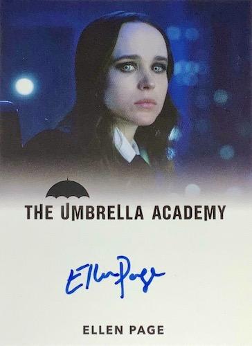 2020 Rittenhouse Umbrella Academy Season 1 Trading Cards - Collector's Set 10