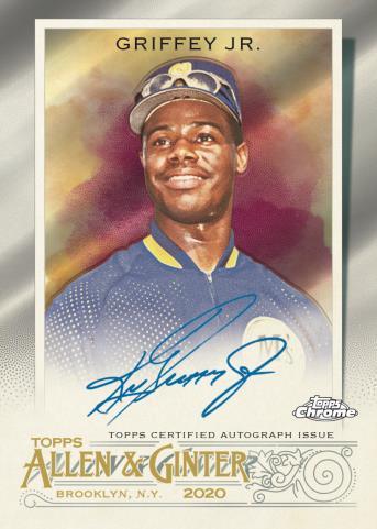 2020 Topps Allen & Ginter Chrome Baseball Cards 6