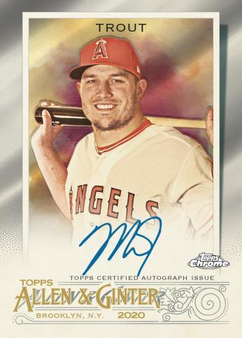 2020 Topps Allen & Ginter Chrome Baseball Cards 5