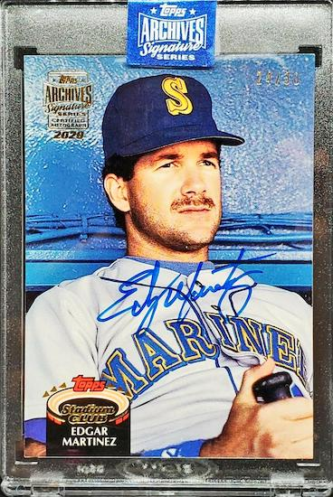 2020 Topps Archives Signature Series Retired Player Edition Baseball Cards 5