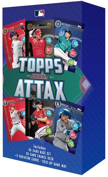 2020 Topps Attax Baseball Cards Checklist 2