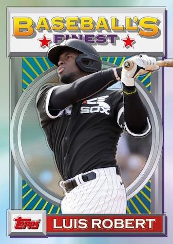2020 Topps Baseball's Finest Flashbacks Baseball Cards 3