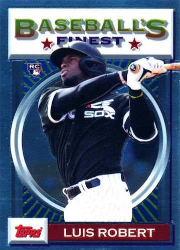 Luis Robert Rookie Cards Guide 13